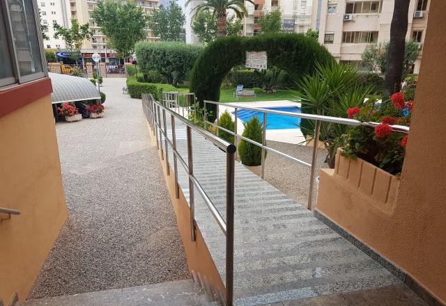 Ingang calle Ibiza