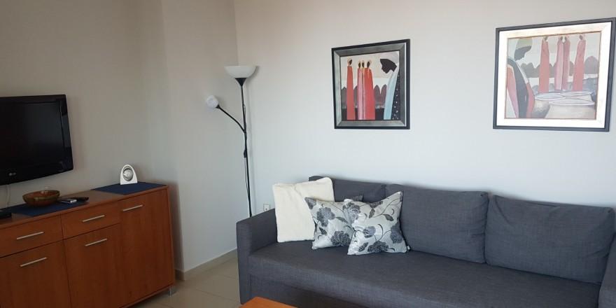 Gemelos 26-19B salón con sofá cama