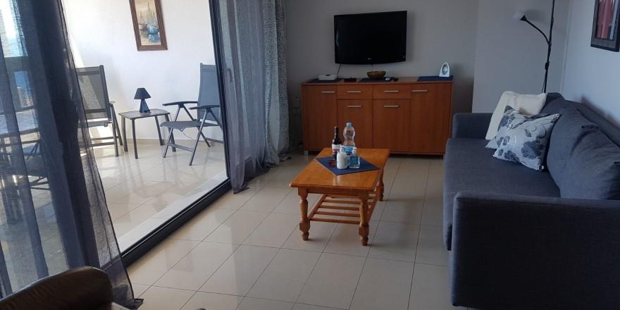 Gemelos 26-19B salón con televisión